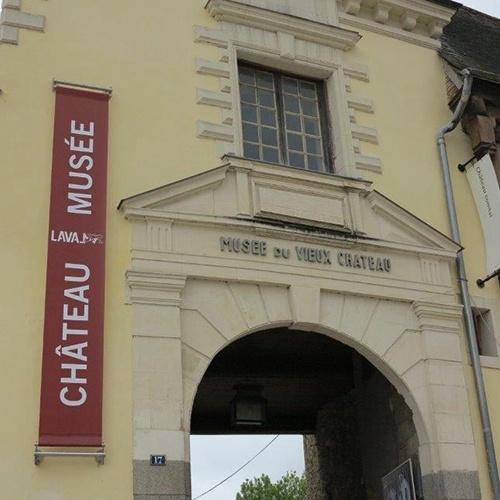 Entrée du musée du vieux château