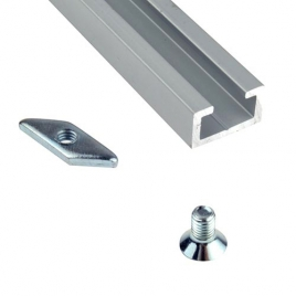 RAIL DE FIXATION en aluminium